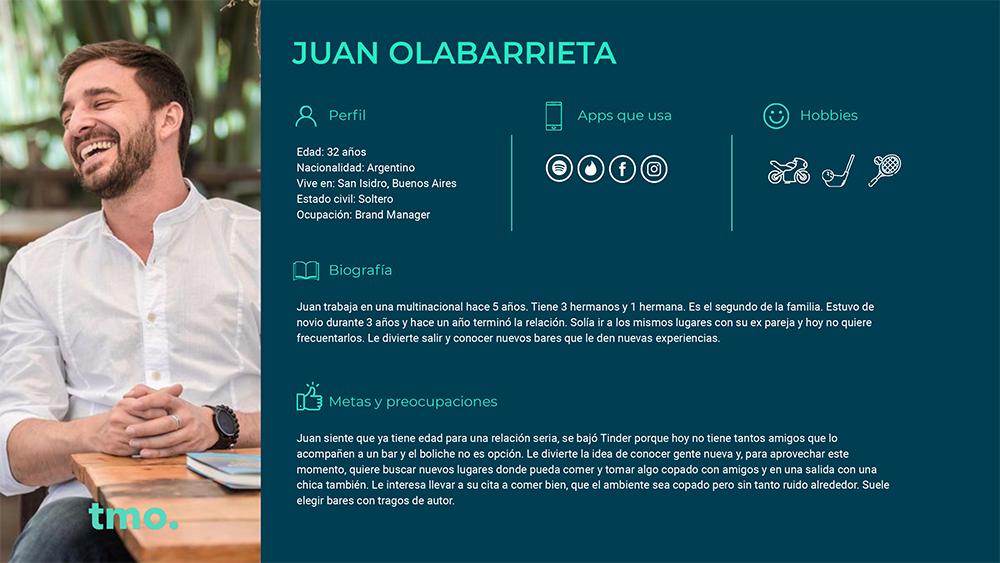 User persona - Juan Olabarrieta